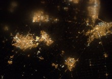 Cmdr_Hadfield - Southern Ontario from Space - February 26, 2013
